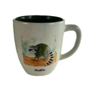 Rae Dunn Raccoon mug NEW
